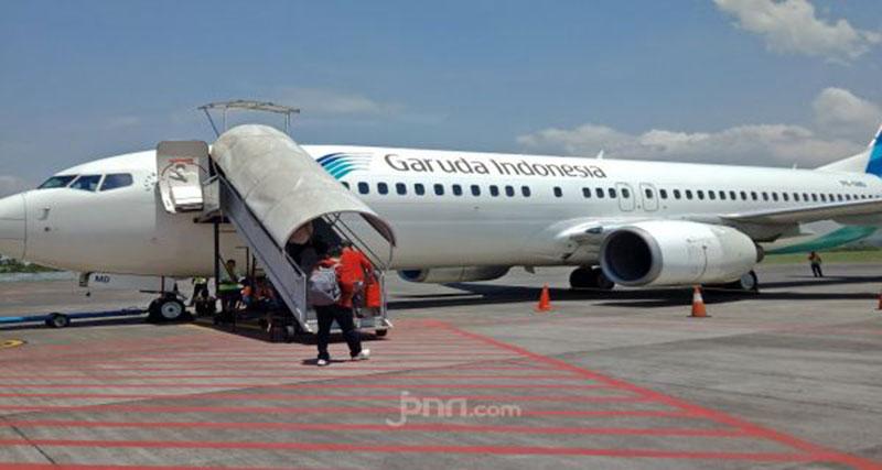 Garuda Kurangi Frekuensi Terbang ke Singapura