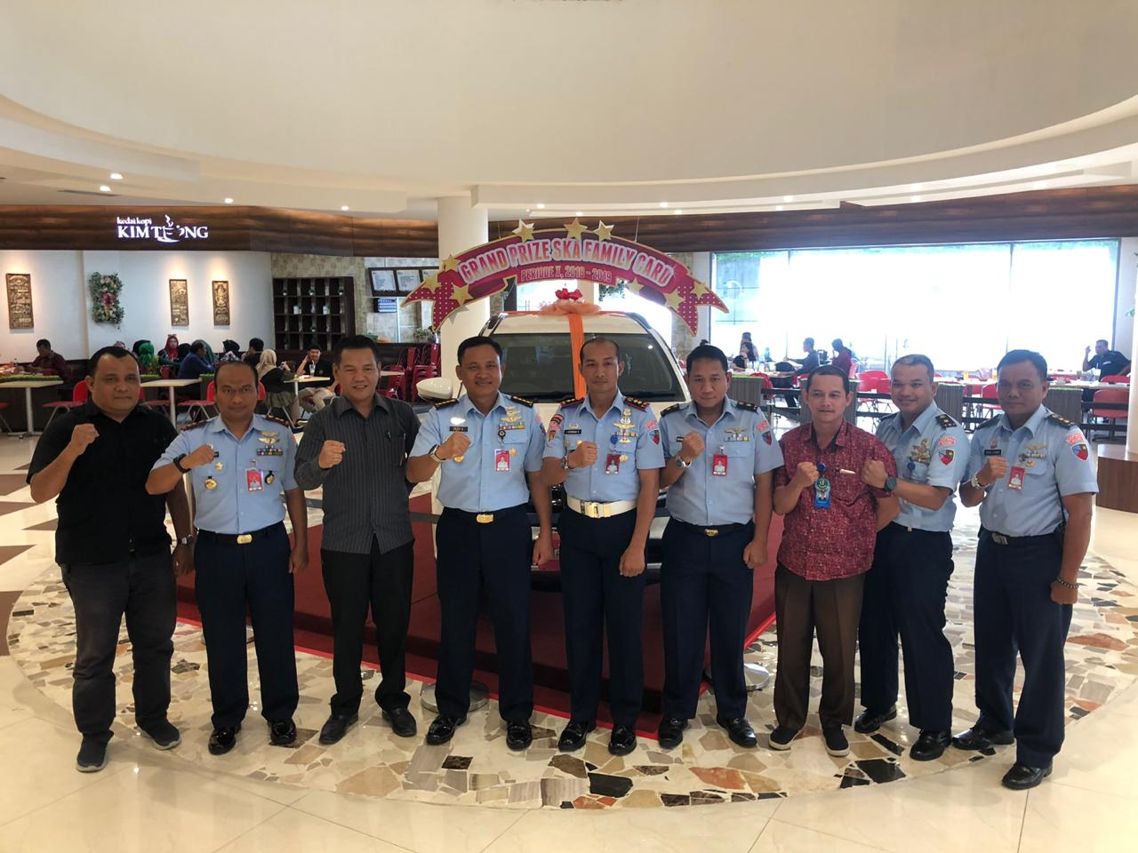 Mal Ska-Lanud Roesmin Nurjadin Gelar Air Force Expo