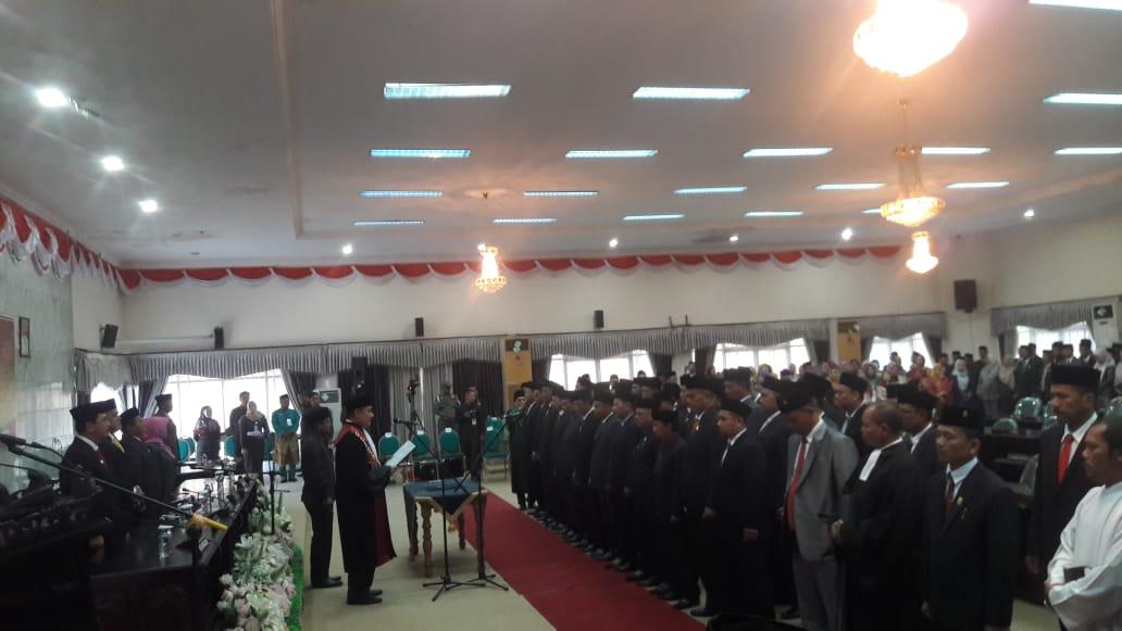 SK Pimpinan Definitif DPRD Inhu, Gubri: Sudah Tanda Tangan