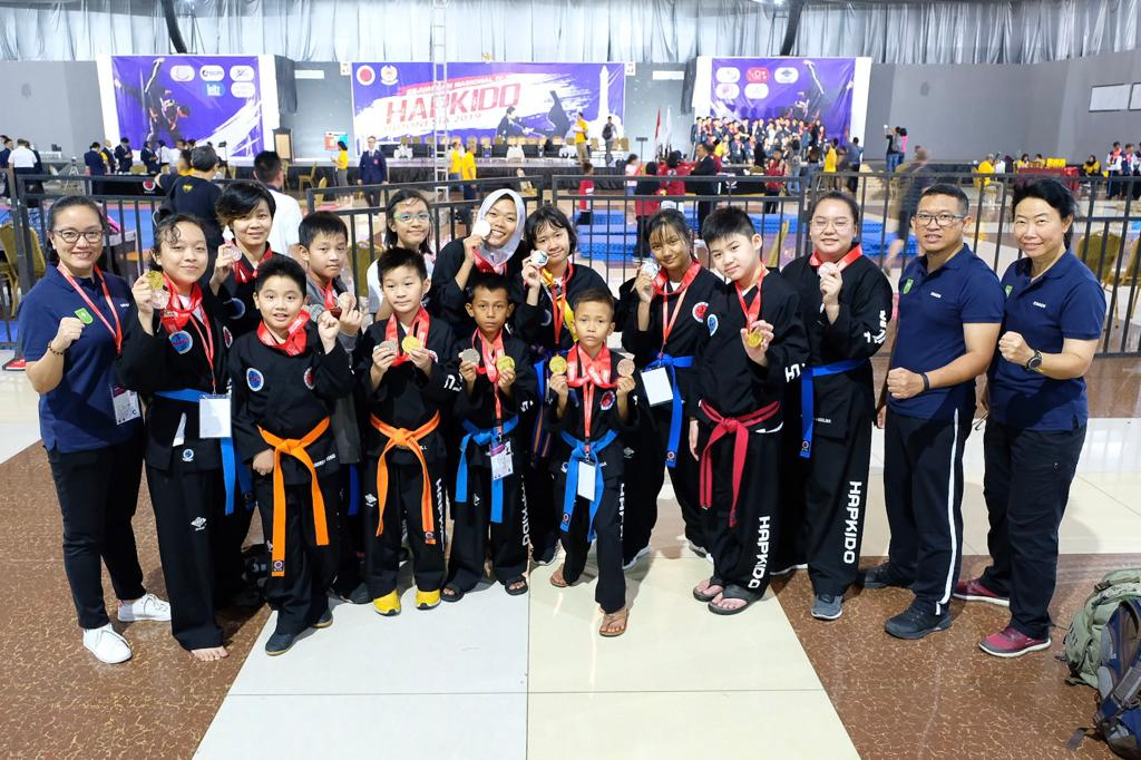 Atlet Hapkido Riau Raih 14 Medali Emas di Kejurnas Semarang
