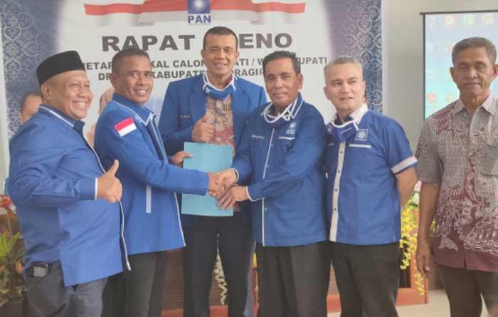 Pleno DPD PAN Tetapkan Enam Paslon Bupati dan Wakil Bupati