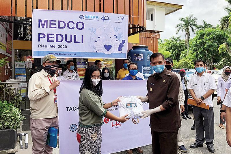 Medco Peduli Masyarakat Terdampak Covid-19 Riau
