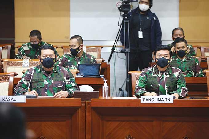 Di Depan DPR, Panglima TNI Berkomitmen Remajakan Kapal Selam