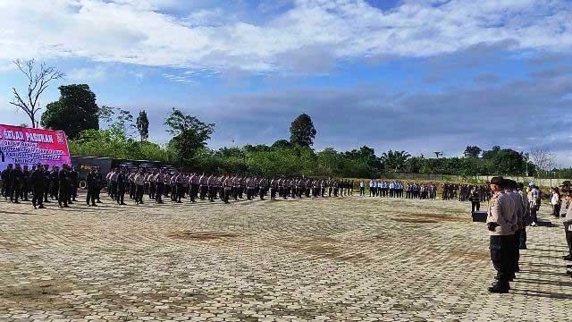 Polres Intensifkan Pengamanan PSU di 25 TPS
