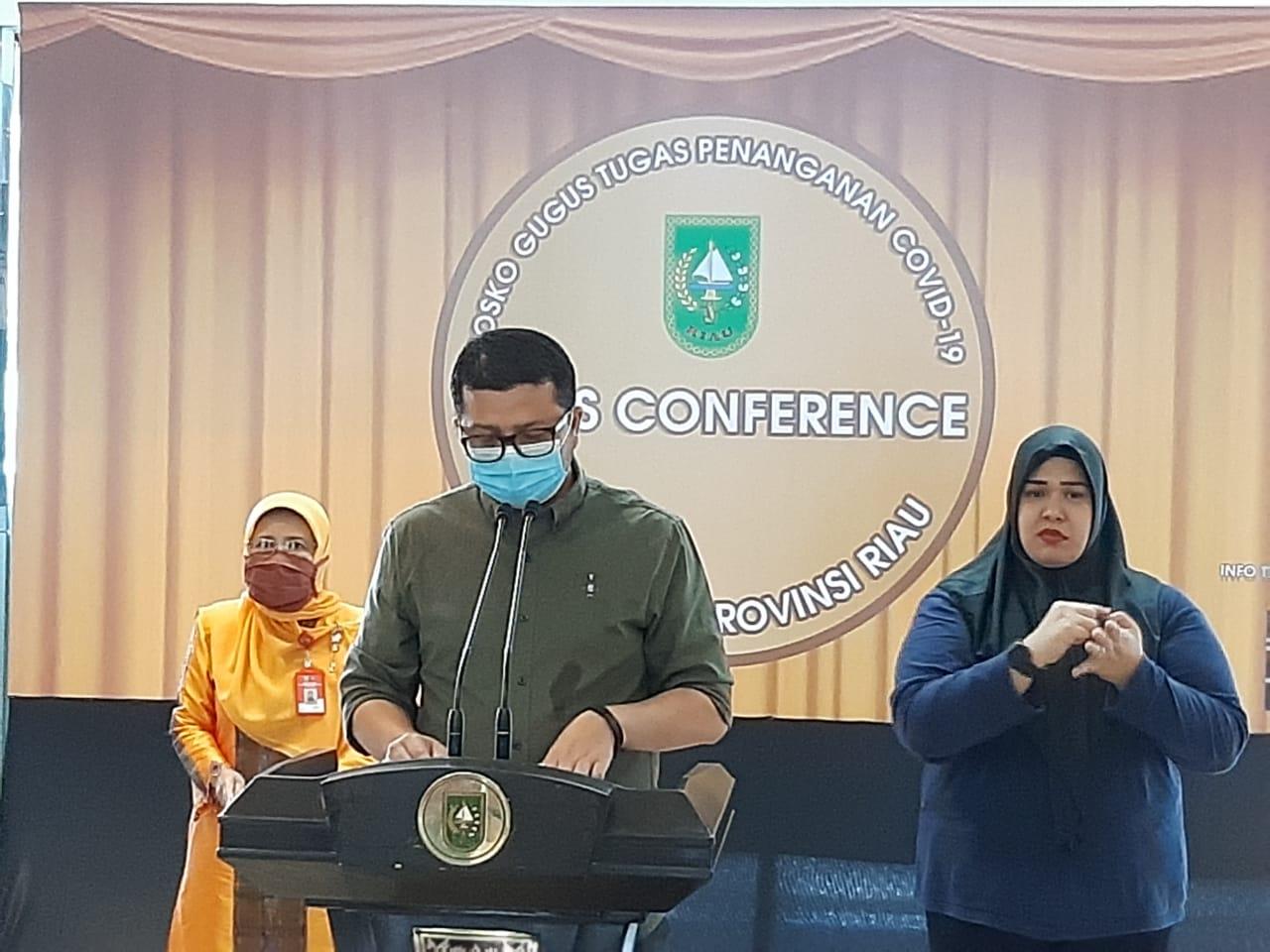 Klaster Santri Tambahan 1 Pasien Positif Covid-19 di Riau Warga Inhil