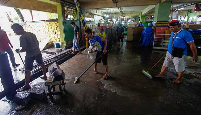 Pascabanjir, Pedagang Berbenah