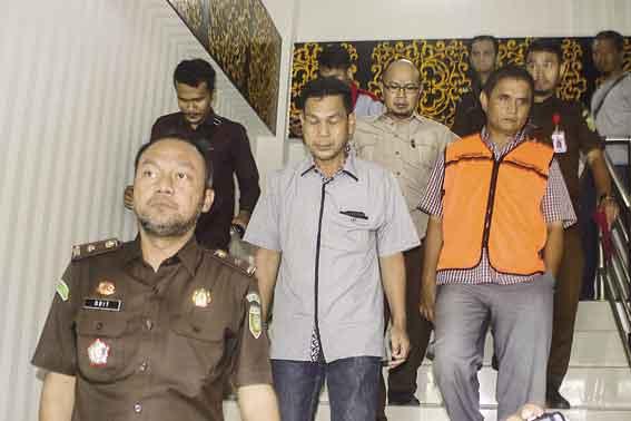 Dua Kali Mangkir, Direktur PT SK Akhirnya Ditahan