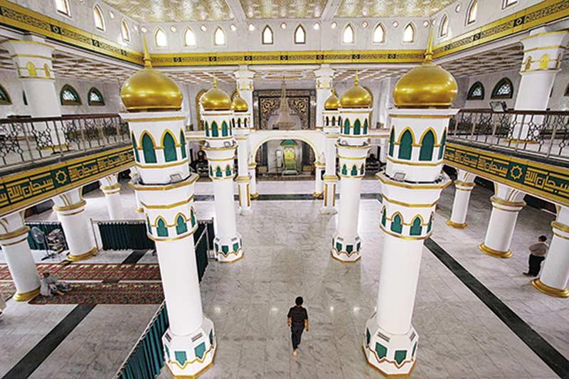 Masjid Raya Senapelan Sambut Bulan Suci Ramadan 1440 H