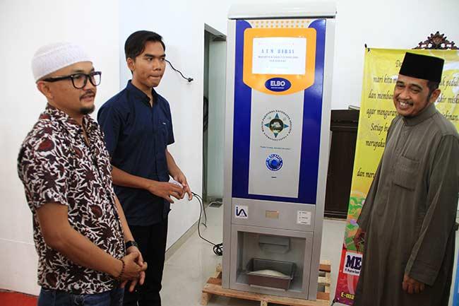 UAS Kemalangan, Launching ATM Beras Diundur