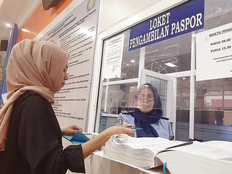 Bayar Rp1,35 Juta, Paspor Siap 1 Hari