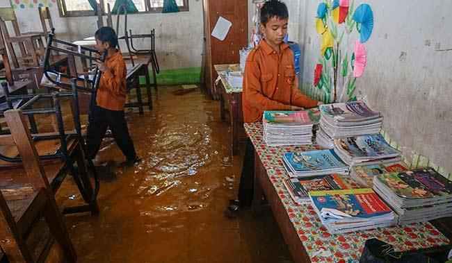 Banjir, SDN 140 Diliburkan
