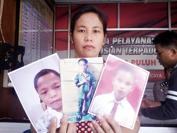 Pamit Cari  Barang Bekas,  Tiga Anak Hilang