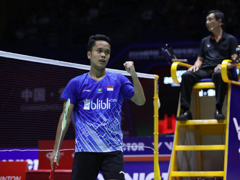 Ginting Belajar Banyak dari Hasil Japan Open