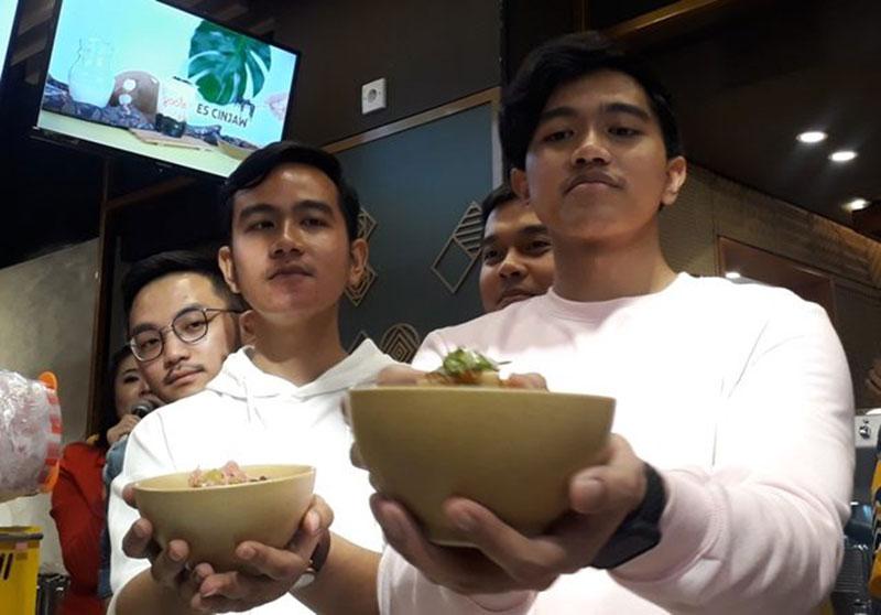 Dua Putra Jokowi Garap Bisnis Rice Bowl
