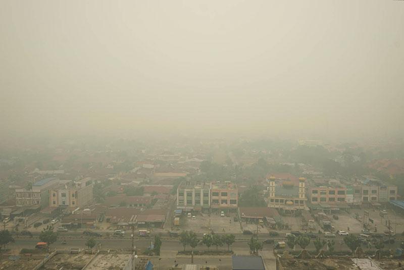 Udara Dumai di Level Tidak Sehat