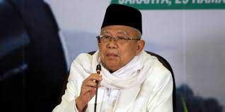 Ma'ruf Amin Berharap Prabowo Tak Menggugat