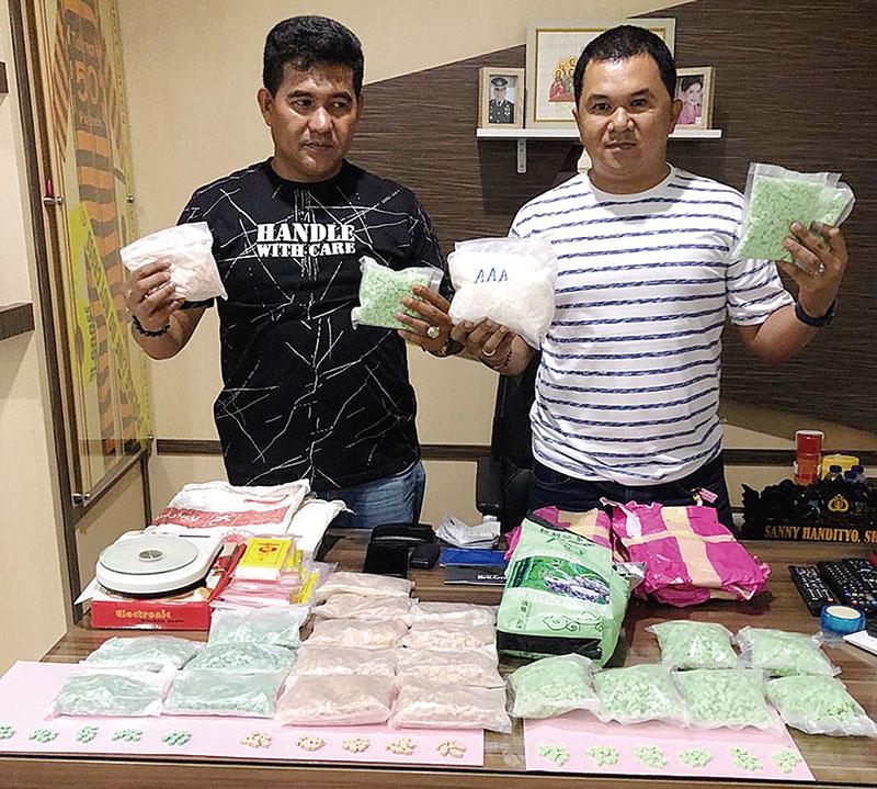 Polisi Ringkus Sembilan Pengedar Narkoba