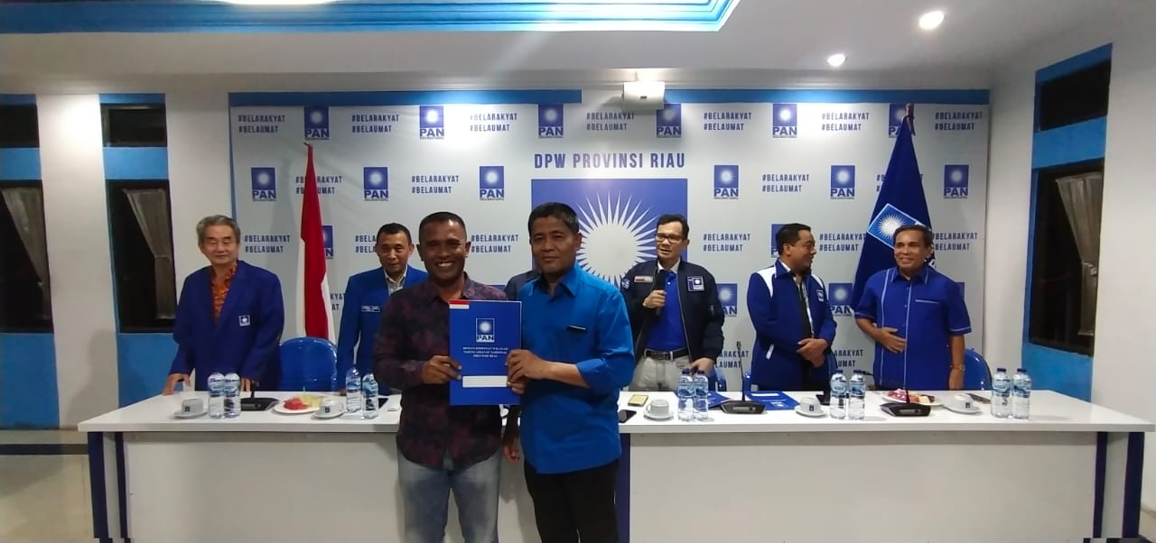 Baru Ketua DPD PAN Inhu Dapat Rekomendasi Maju di Pilkada
