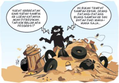 DLHK Masih Pelajari Permasalahan TPS Rajawali