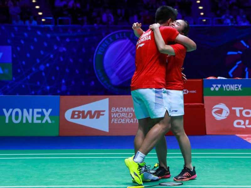Ganda No 1 Indonesia Lawan Kutukan Juara All England di Olimpiade