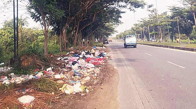 Tumpukan Sampah Kembali Menjamur