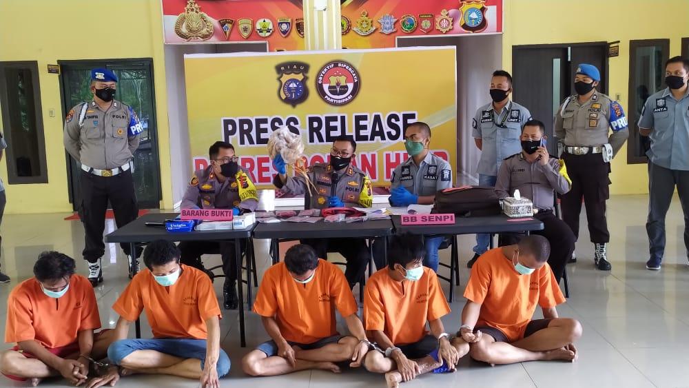 Terungkap, Sopir Dalangi Dua Perampokan di Rohil