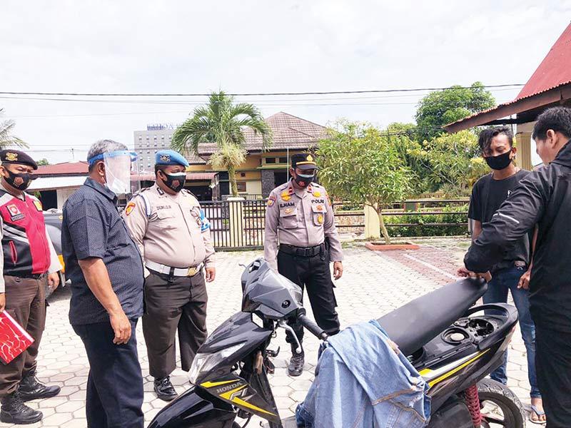 Pemilik Sepeda Motor Bodong Diamankan
