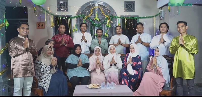 Grup Nasyid Asal Pekanbaru Rilis Lagu Tidak Mudik