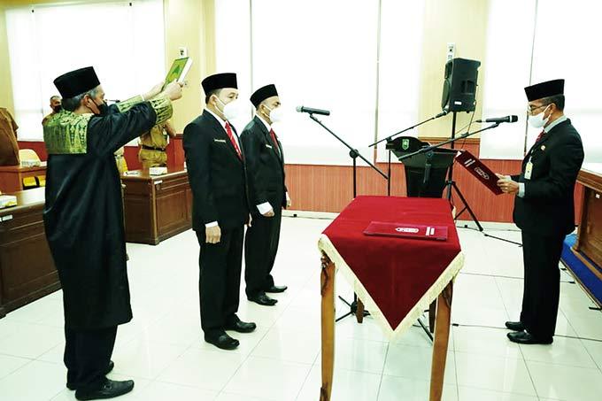 Jamaluddin Lantik Dua Dokter Ahli Utama