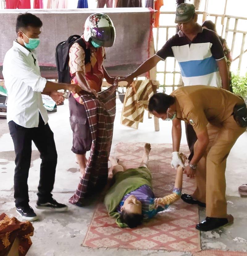 TRC Evakuasi Orang Telantar