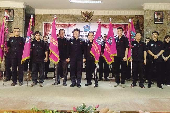 PSMTI Lantik Pengurus 6 Kecamatan