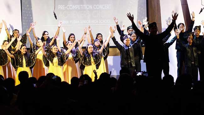 Paduan Suara SMA Darma Yudha ke Kompetisi Internasional