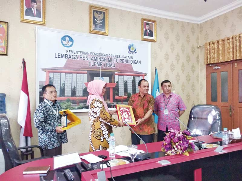 LPMP Riau Jadi Tolok Ukur LPMP Aceh