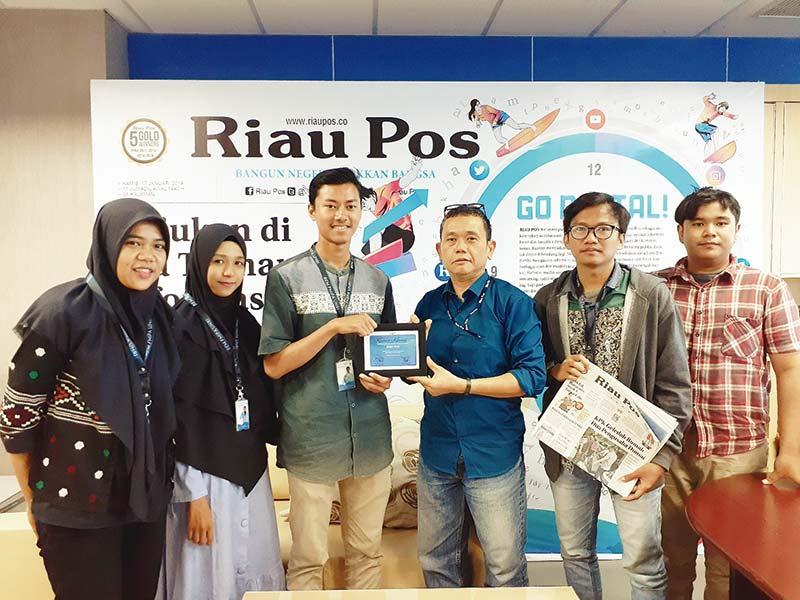 BEM Fakultas MIPA Unri Ingin Jadikan Riau Pos Media Partner