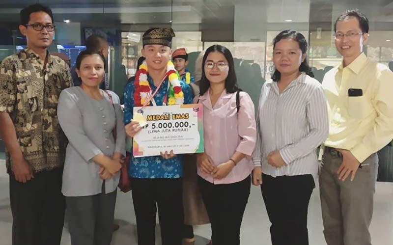 Siswa SMP Witama Raih Medali Emas OSN