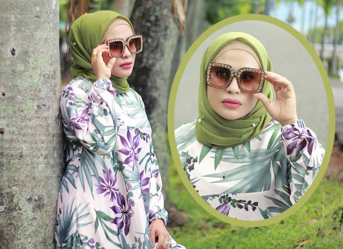Tropical Print Bikin Mood Jadi Good