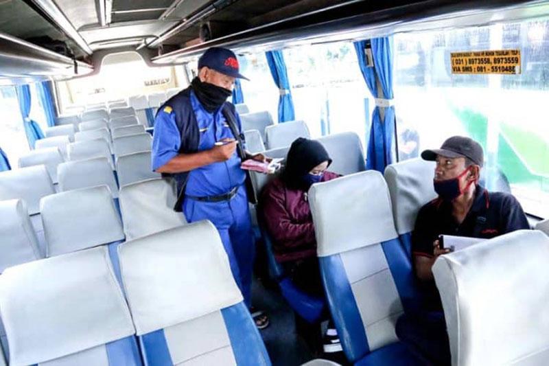 Per 1 Juli Bus Bisa Angkut 70 Persen Penumpang