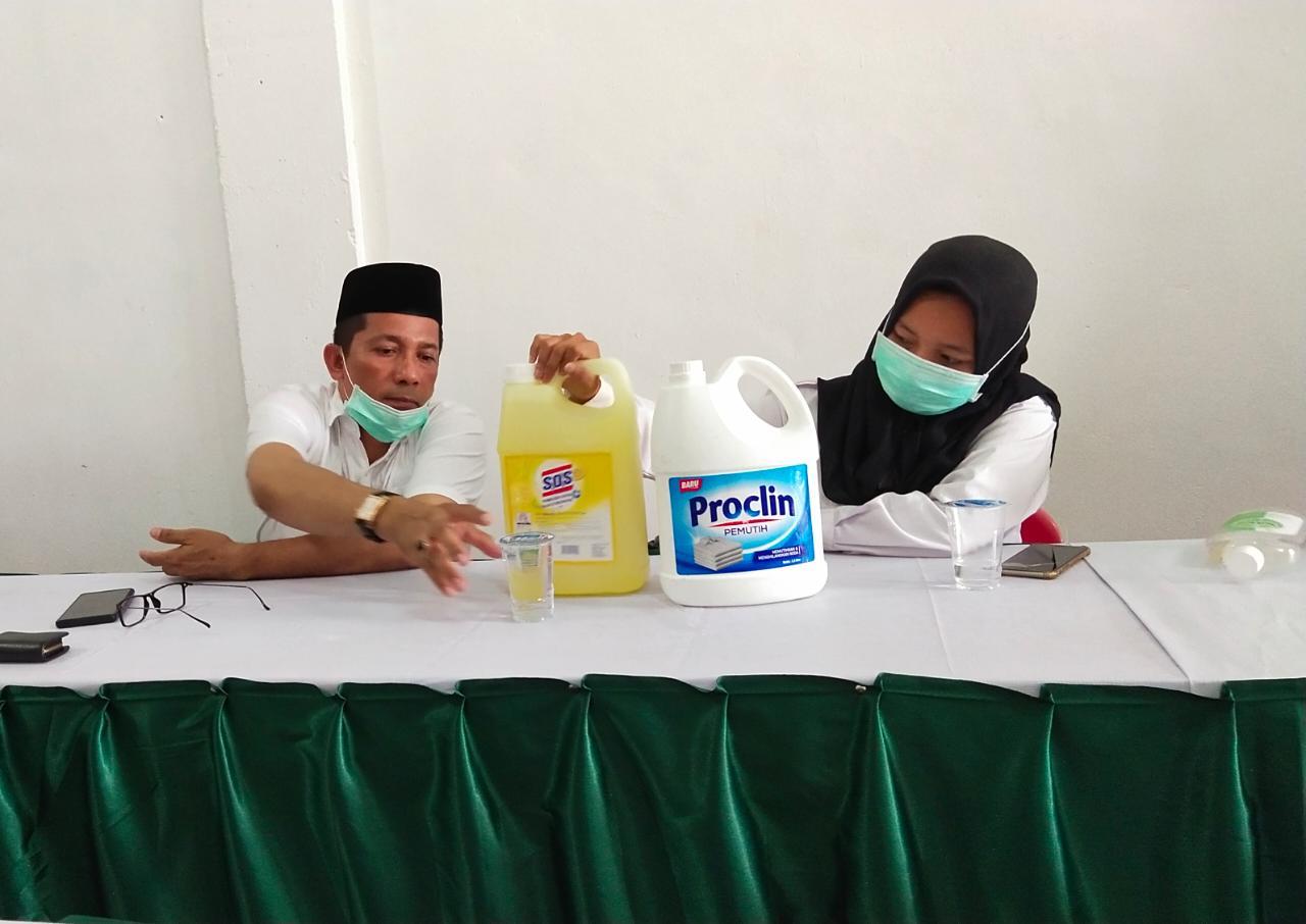 Gapura Sterilisasi Corona Timnya Dibongkar, Anggota DPRD Provinsi Ini Meradang
