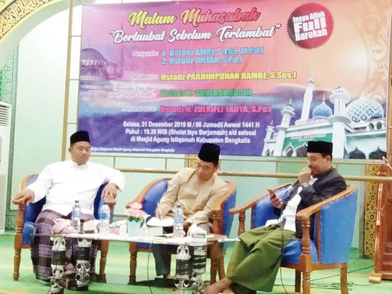 Masjid Istiqomah Gelar Muhasabah