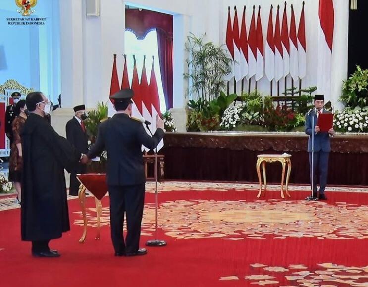 Listyo Sigit Prabowo Resmi Lanjutkan Estafet Pimpinan Tertinggi Polri
