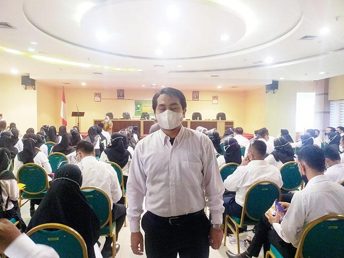 10 Tahun Bekerja di BPN, Nasib Menunjukkan ke Pemkab Inhu