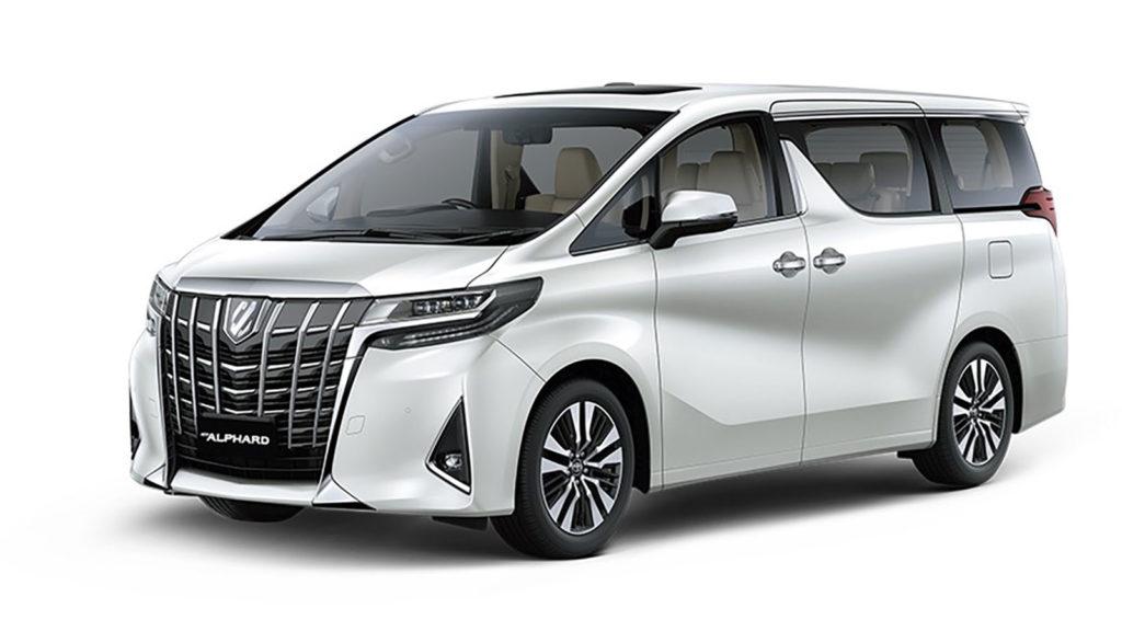 Toyota Recall Alphard dan Vellfire Karena Seatbelt