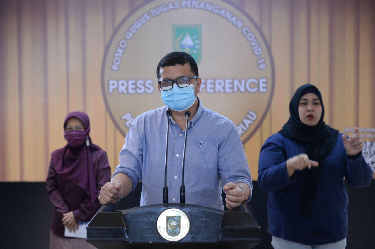 Tambahan Satu Pasien Positif Warga Kepri yang Berkunjung ke Riau