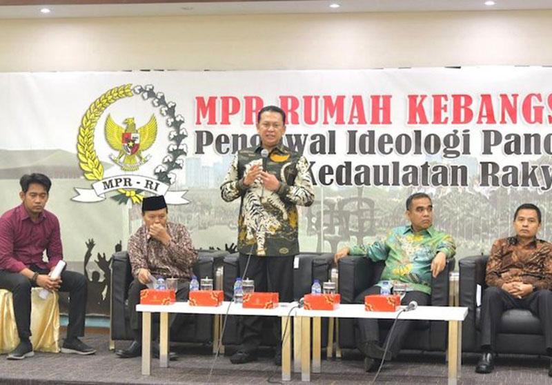Ketua MPR Tegaskan Komitmenya Menduniakan Pancasila