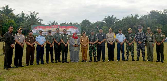 Wali Kota Dumai Hadiri Kegiatan TMMD di Bukit Kapur