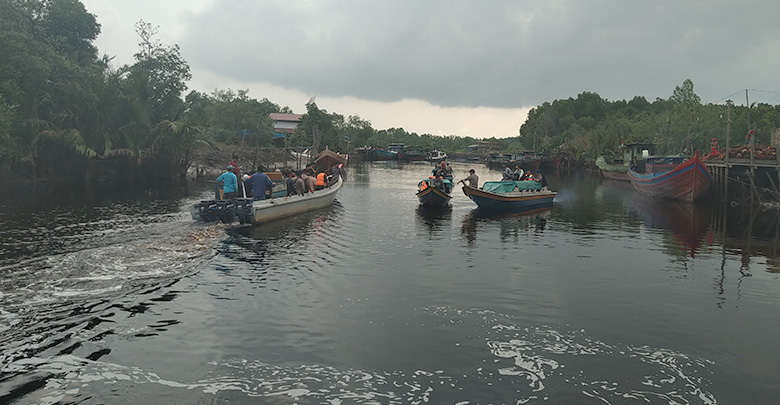 Air Sungai Masjid Diolah Jadi Air Bersih