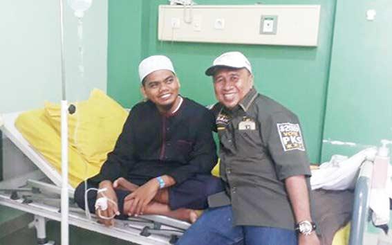 Anggota Dewan Fasilitasi Masuk Pondok Tahfiz