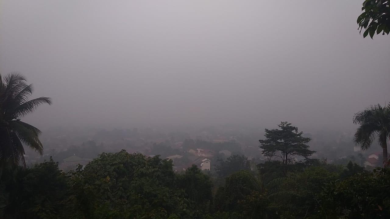 Sebagian Daerah Kampar Diguyur Hujan Singkat