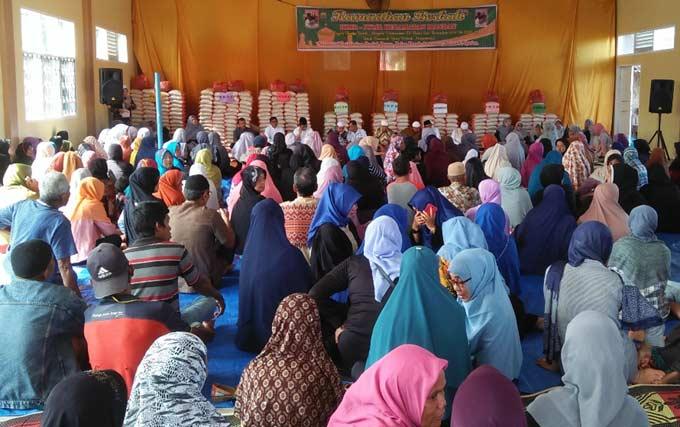 500 Paket Sembako Tak Mencukupi, Panitia Terpaksa Siapkan Amplop