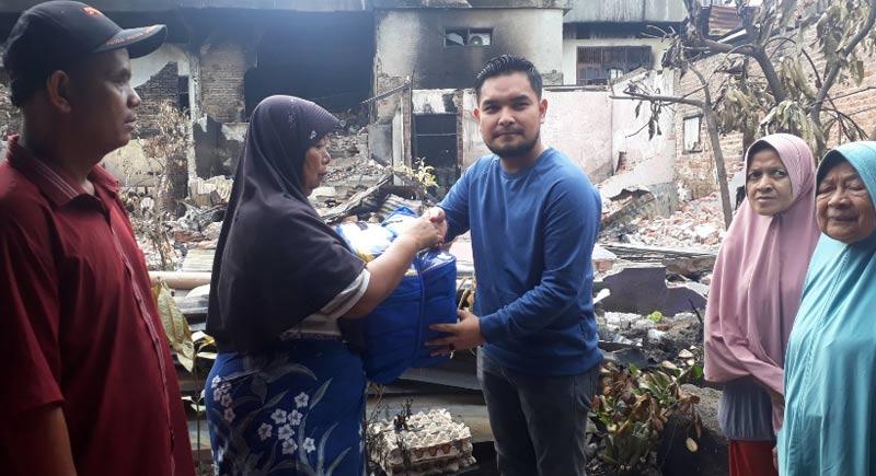 Korban Terima Bantuan Mau Naik Haji, Surat Terbakar